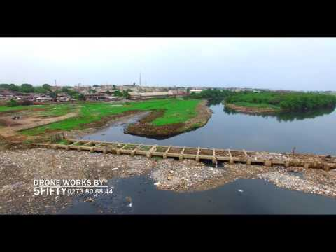 POLLUTED ODAW RIVER