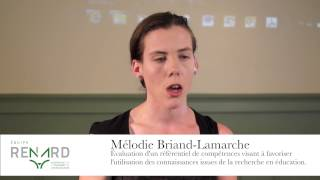 Mélodie Briand-Lamarche - Ma thèse en 180 secondes