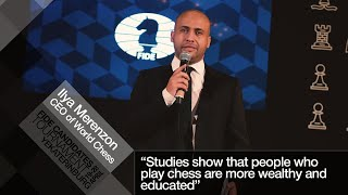 Numbers don't lie | Chess could make you smarter and richer - Ilya Merenzon (World Chess CEO)