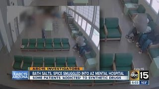 Synthetic drugs smuggled into AZ mental hospital