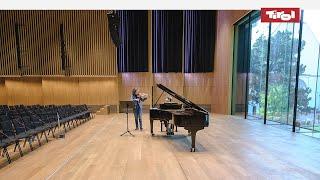 Konzertmeisterin Annedore Oberborbeck: Tiroler Symphonieorchester Innsbruck