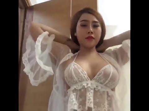 CEWE KOREA LIVE BIGO baju sexy transparan lingerie   YouTube