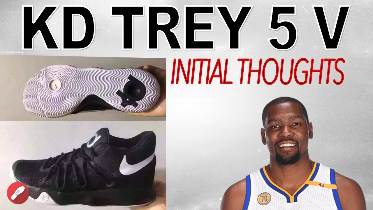 df23425ab2ce Kevin Durant s Next Shoe! Kd Trey 5 V Initial Thoughts! - YouTube
