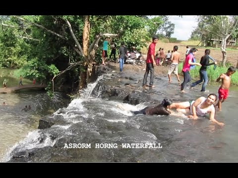 Trip to Asrorm Horng Waterfall in Cambodia