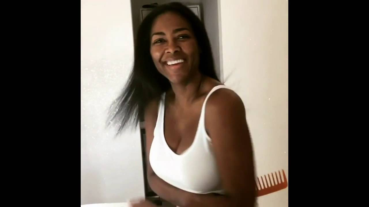 Kenyamoore Exposes Real Hair All Natural No Weave Relaxer Dye Or