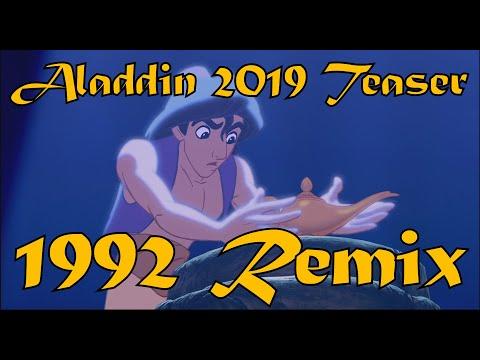 ALADDIN 2019 - Trailer 1 (1992 Cartoon Remix)