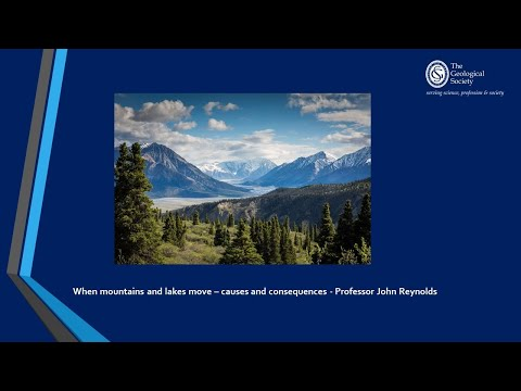 May Public Lecture -  When mountains and lakes move – causes and consequences