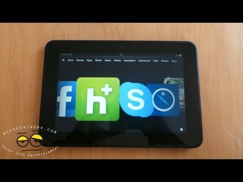 Amazon Kindle Fire HD 8.9 Lightning Review