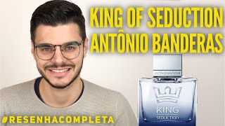 KING OF SEDUCTION ANTONIO BANDERAS | PERFUME MASCULINO BOM E BARATO