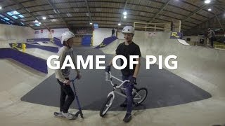 Game of PIG | Scooter vs. Bike