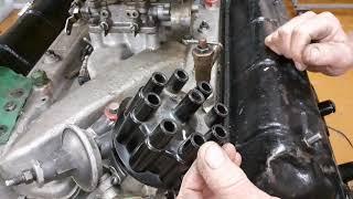 Установка проводов высокого напряжения на двигатель  ЗМЗ-53. Зарубин С.Ю. #ДОТиПОВКО