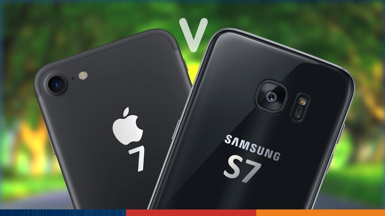 camara s7 vs iphone se