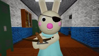 ROBLOX PIGGY NON INFECTED BUNNY JUMPSCARE - Roblox Piggy RolePlay