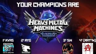 Heavy Metal Machines European Championship Finals