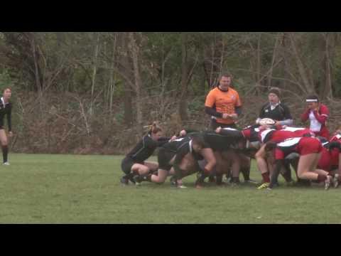 University of Cincinnati vs Davenport University Women's Rugby 2016 (Close-up Version)