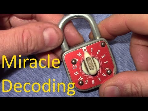 (picking 424) ABUS Sesam No 77 - a little decoding miracle
