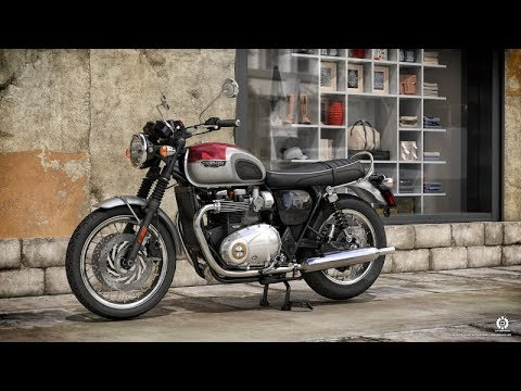 New Triumph Bonneville T120 2018 Youtube