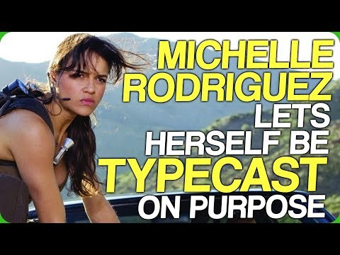 Michelle Rodriguez Lets Herself Be Typecast On Purpose