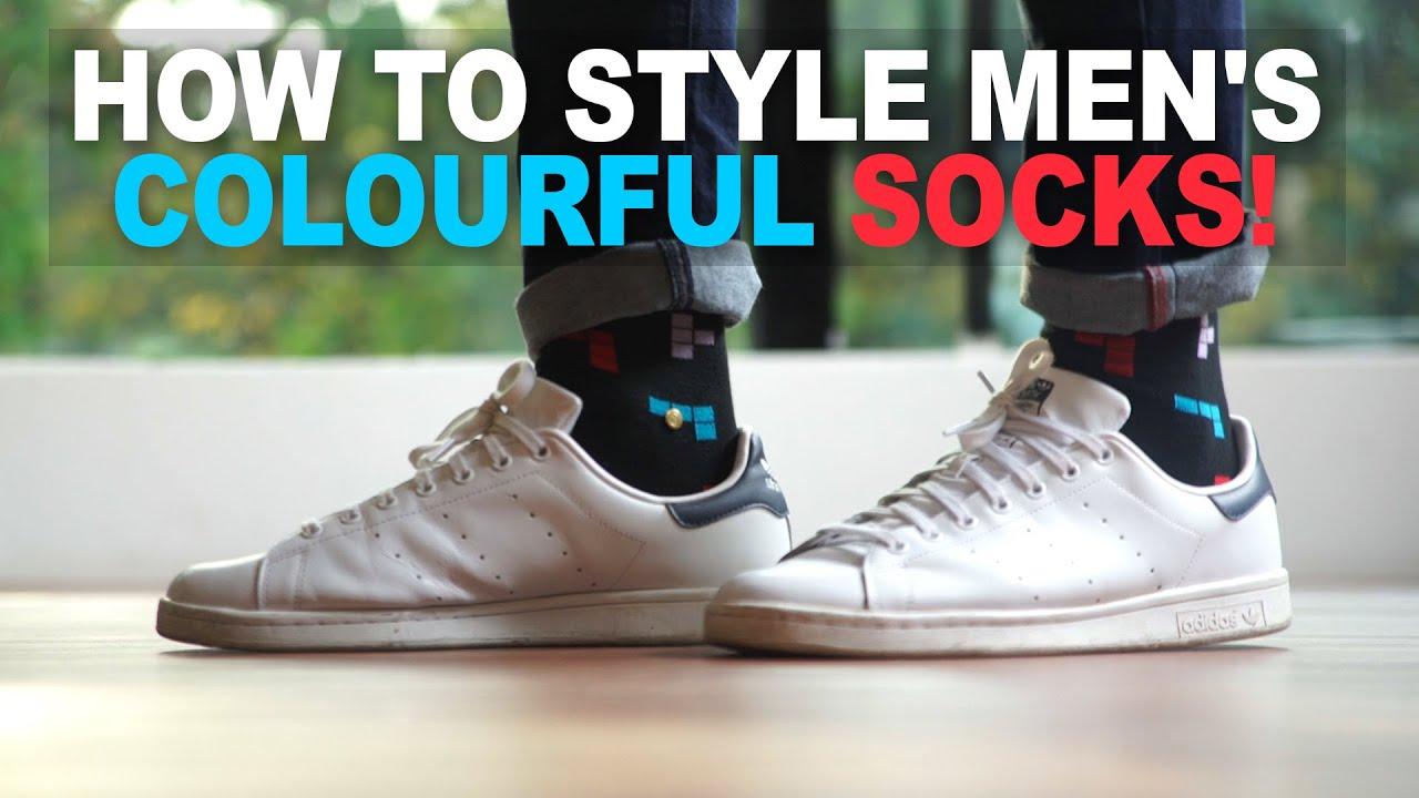 Colourful Socks! | Style Adidas Stan