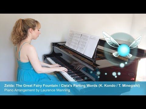 Zelda Great Fairy Fountain / Ciela's Parting Words (Piano Cover)