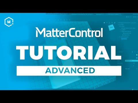 MatterControl 3D Printing Software Tutorial // Advanced thumbnail
