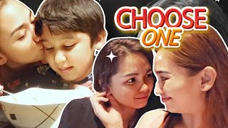 MY SON OR MY GIRLFRIEND? CHOOSE ONE! | QUARANTINE VLOG