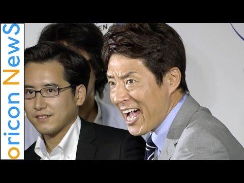 松岡修造、小学生に大人のエチケット講座 『ファブリーズMEN ビジネスマン熱血消臭イベント』