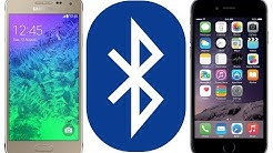 Send Files From Your iPhone To Any Device Via Bluetooth, iOS to Android Demo for iOS 12.x.x