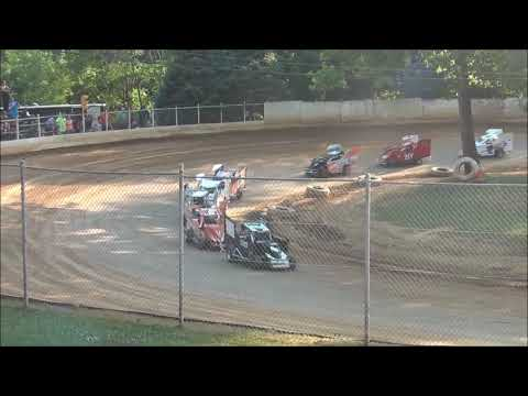 Senior Slingshot Heat Race from Shellhammers Speedway 7/14/2018
