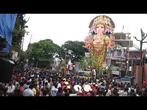 Khairatabad Ganesh Immersion 2019 | Exclusive Visuals | Manastars