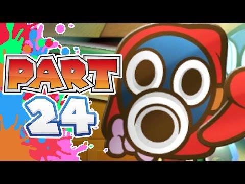 Paper Mario Color Splash Walkthrough Wii U Cobalt Base Part 19 ...