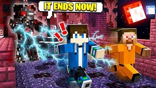 CORRUPT STEVE IS HUNTING ME in Minecraft! (Scary Survival EP56)