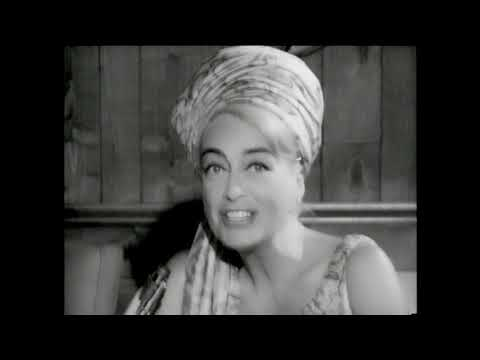 Joan Crawford looking pretty in interview