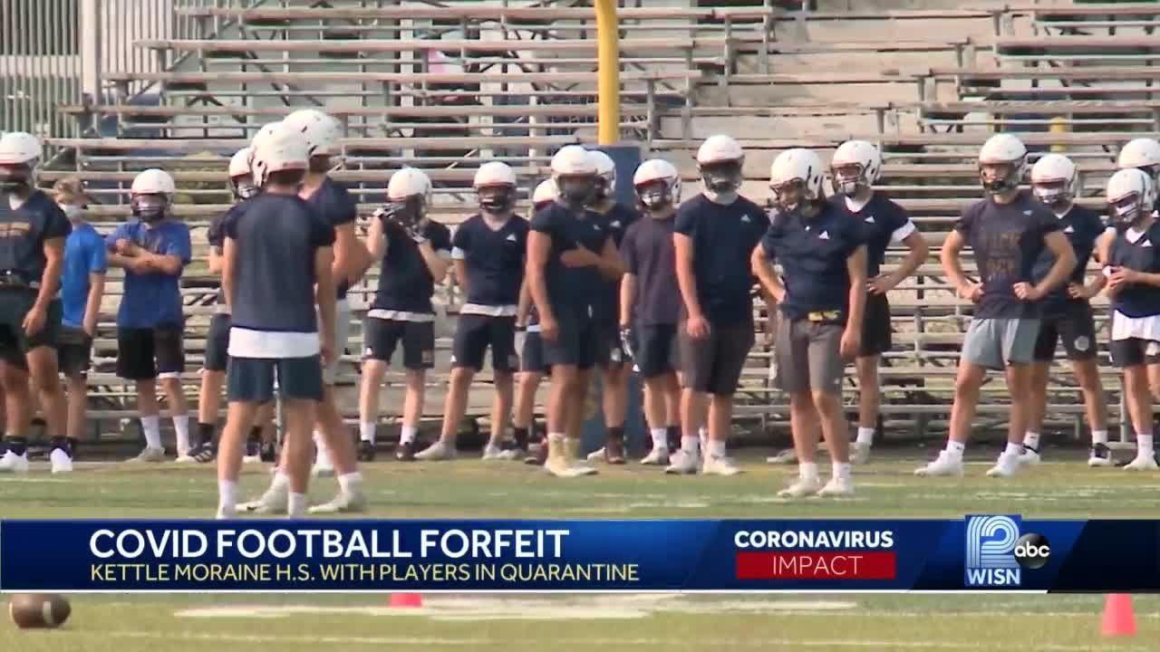 Team forfeits 2 football games after coronavirus quarantine