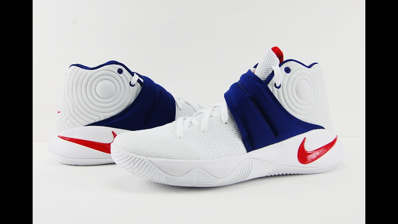 timeless design 42daf 8a76b Nike Kyrie 2 USA 4th of July Review
