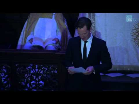 Benedict Cumberbatch reads for the Story of Christmas