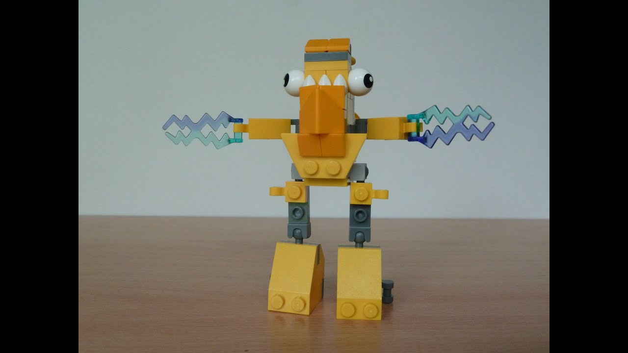 LEGO MIXELS TESLO ZAPTOR MIX Lego 41506 Lego 41507 Mixels ...  LEGO MIXELS TES...