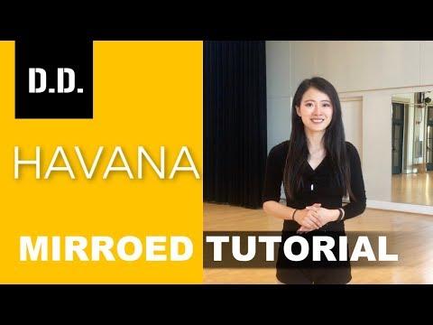 【D.D.】May J Lee Choreography | HAVANA| Mirrored Tutorial[Sunny]
