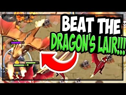 Unusual Ways to BEAT Dragon's Lair in the Clash of Clans Update!