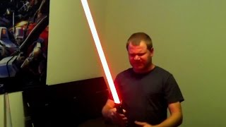 Ultrasabers Dark Prophecy with TRI Blazing Red blade V4 board and more.