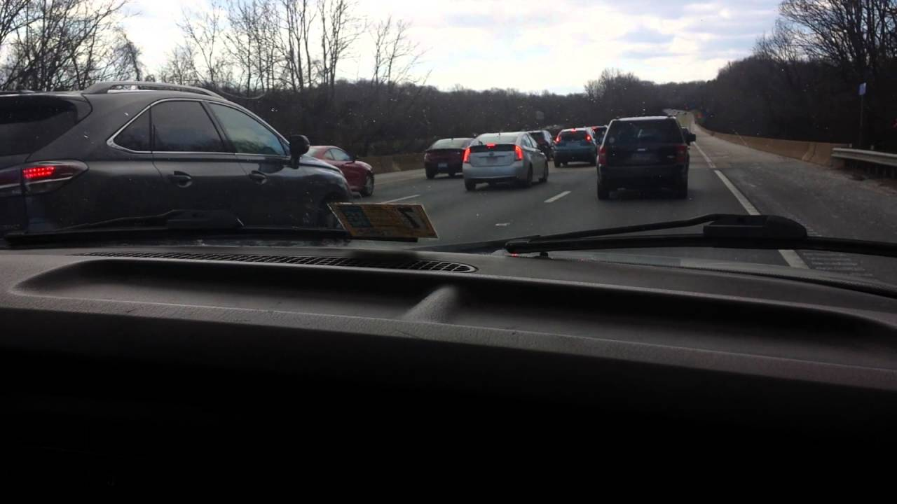 I-95 traffic accident on the Rappahannock River Bridge nearby the Virginia  welcome rest area