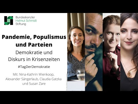 Pandemie, Populismus und Parteien - Demokratie und Diskurs in Krisenzeiten | Online-Diskussion