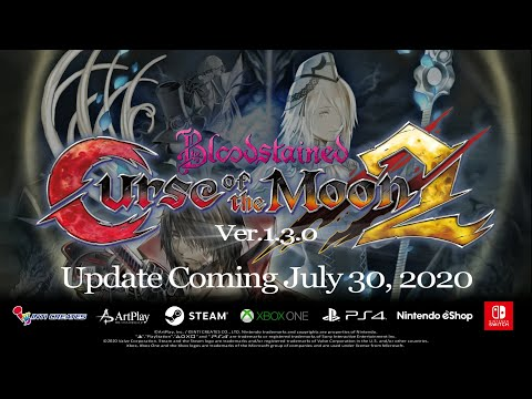 Bloodstained: Curse of the Moon 2 - Update Ver.1.3.0