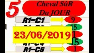 PRONOSTIC PMU Quinté+ meilleurs 5 CHEVAUX du JOUR DIMANCHE 23 JUIN 2019