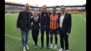 Faisto bliver ny trøjepartner for kvinde-holdet