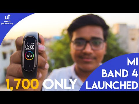 MI Band 4 New Features , Pricing in India and Launch Date in India