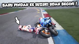 Download Video KUALAT AKIBAT SERING JATUHIN RIDER #CatalanGP #DutchGP - MOTOGP 18 CAREER [PC] PART 43 MP3 3GP MP4