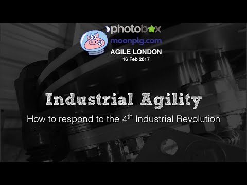 Agile London | How to respond to the 4th Industrial Revolution | Paolo Sammicheli