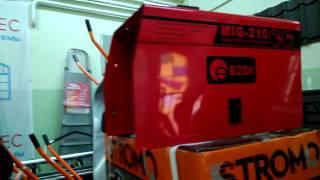 Видео обзор рукав и двигатель для полуавтомата Edon MIG-210