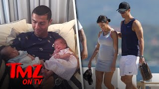 Cristiano Ronaldo Welcomes Twins! | TMZ TV